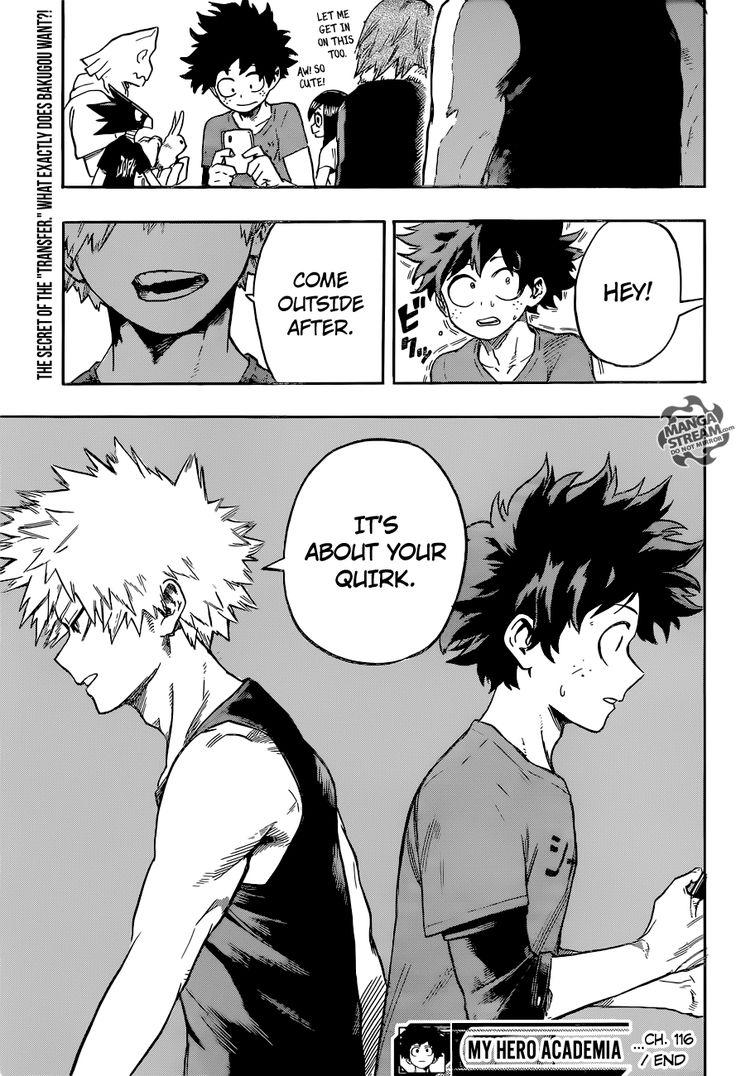 My Hero Academia 116 - Page 20 - Manga Stream