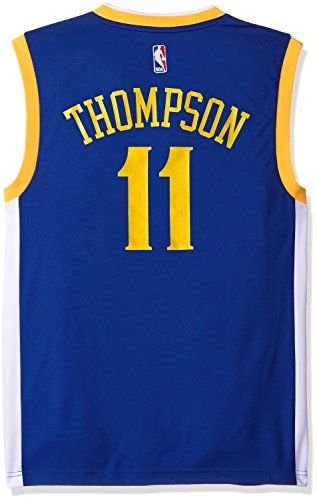 Cheap NBA Golden State Warriors Klay Thompson 11 Men Replica Jersey Father day sale
