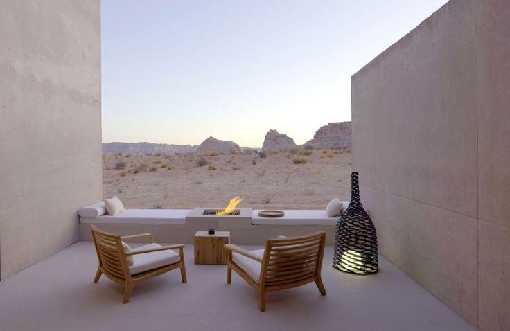 Amangiri - Amangiri Suite Desert Lounge