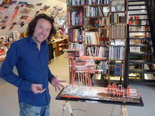 gesprekken met hedendaagse kunstenaars: interview met ARNE QUINZE