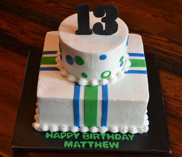 Teenage Boy Birthday Cake on Cake Central