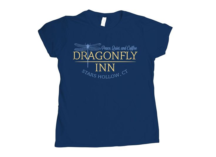 Dragonfly Inn T-Shirt by SnorgTees. Men's and women's sizes available. Check out our full catalog for tons of funny t-shirts.