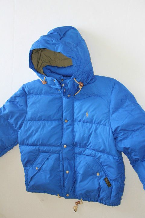 Ralph Lauren Polo Puffer Small Pony Blue Hoodie Jacket L LARGE | Clothing, Shoes & Accessories, Men's Clothing, Coats & Jackets | eBay!