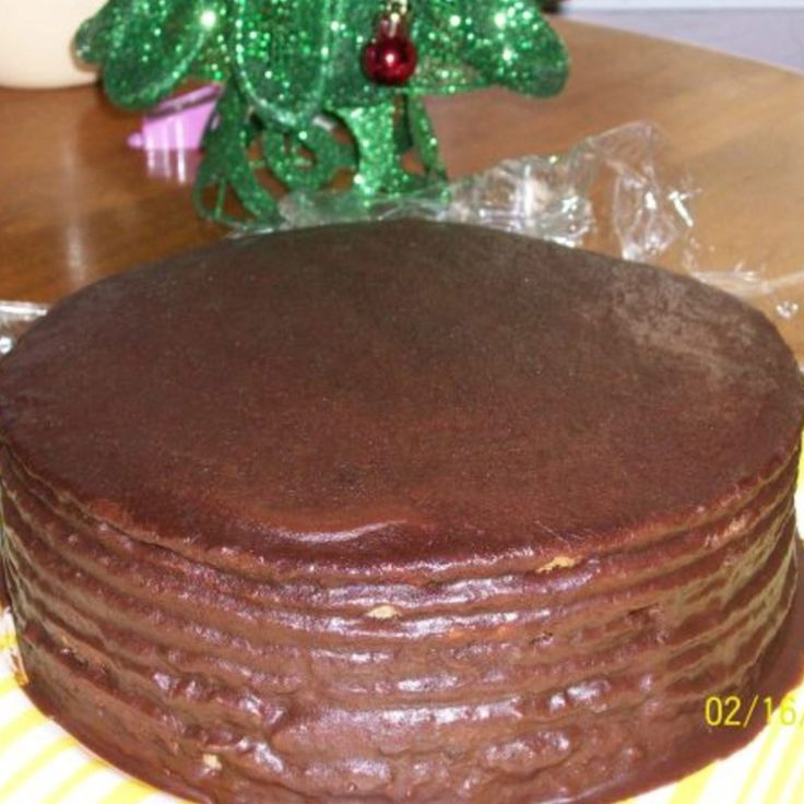 I love making this cake. It seems that young folks as well as old folks love this cake. It may not be the most beautiful cake but it sure is good. This is the kind of cake that our grandmothers and great-grandmothers made.