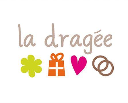 Logo La Dragée: siteweb de vente en ligne pour les souvenirs de mariage, naissance, articles de décoration