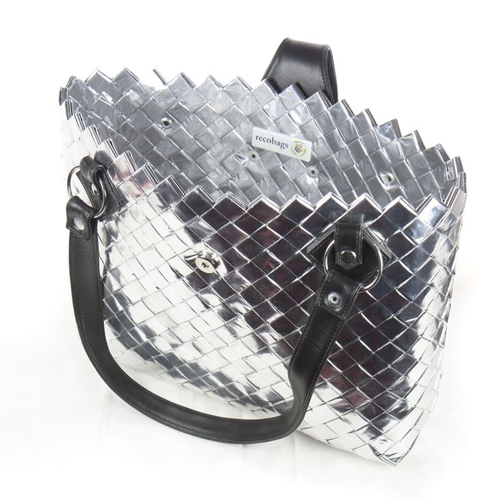 recycling purses bags   recobags - shopper handbag - recycled handbags, purses and accessories ...