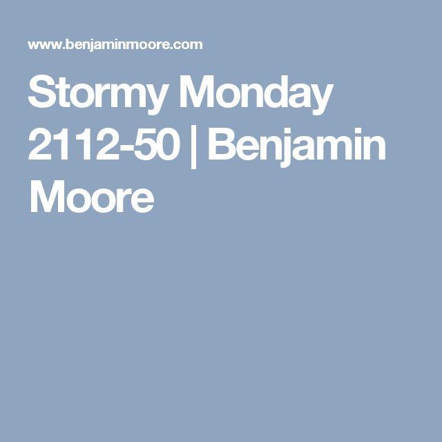 Stormy Monday 2112-50    Benjamin Moore