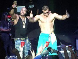 Watch shirtless Gronk dance like crazy on cruise