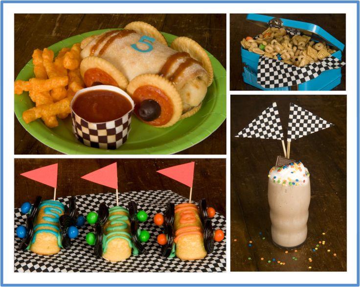Race Car Party Food Ideas