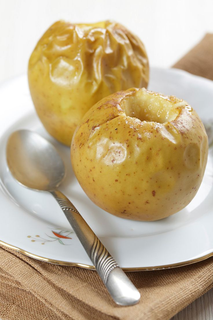 Easy microwave baked apples