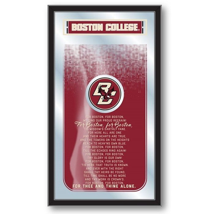 Boston College Eagles Fight Song Mirror at SportsFansPlus.com. Visit website for coupon!