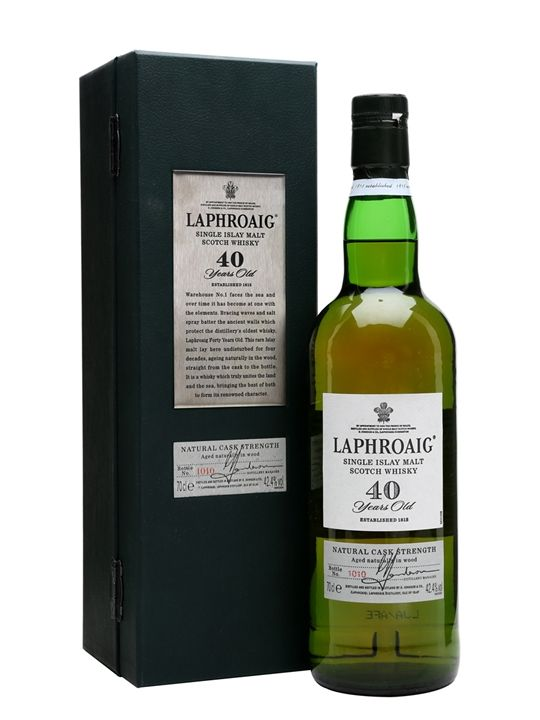 Laphroaig 40 Year Old Scotch Whisky : The Whisky Exchange