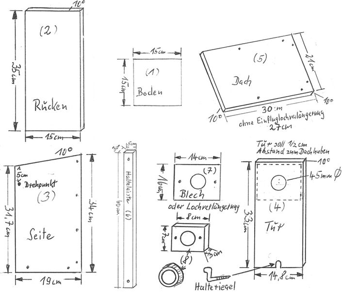 die besten 25 starenkasten ideen auf pinterest nistkasten selber bauen nistkasten bauen und. Black Bedroom Furniture Sets. Home Design Ideas