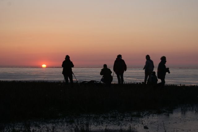Fotoclubje op het Noarderleech Friesland