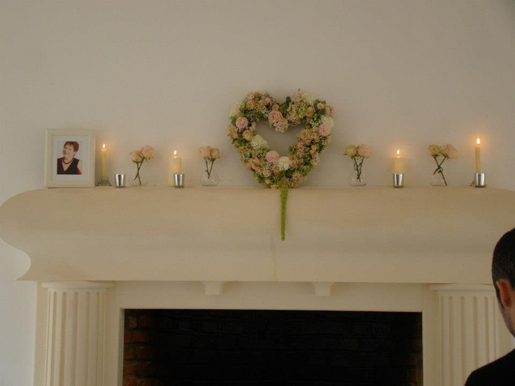 Fireplace with heart at Northbrook Park