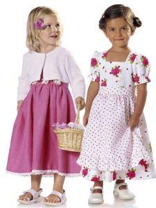 burda style: Kinder - Mädchen - Gr. 92 - 188 - Kombinationen - Kleid und Jacke