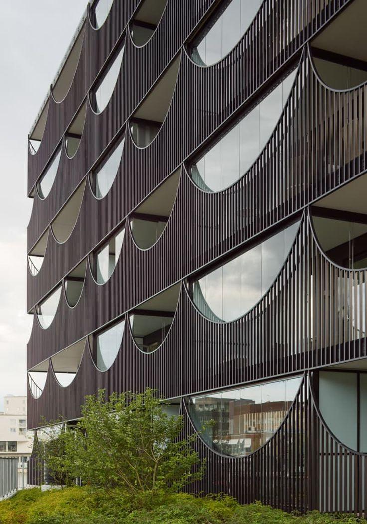 Tham & Videgård Arkitekter, Åke E:son Lindman · Västra Kajen Housing. Jönköping, Sweden