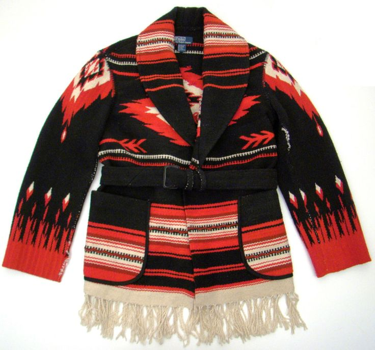 Polo Shawl Sweater