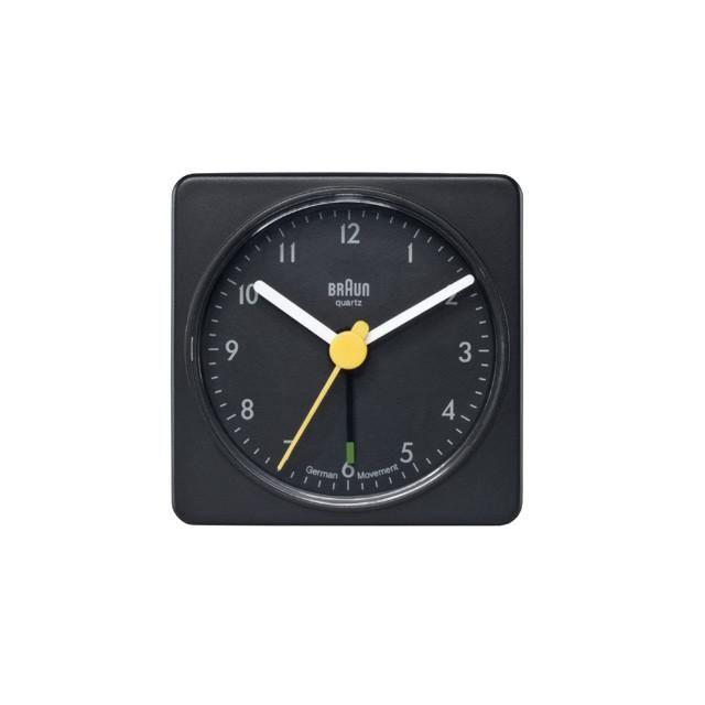 Classic Square Alarm Clock Port Of Raleigh Braun Alarm Clock Clock Alarm Clock Design