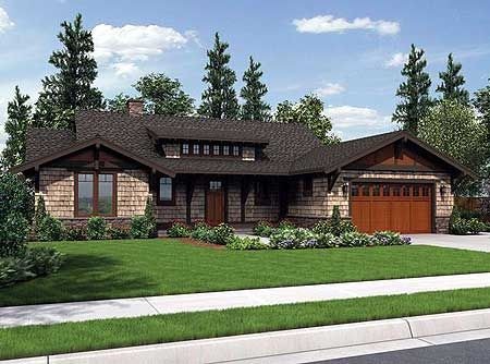 1000 images about modern ranch house on pinterest for Craftsman style shed plans