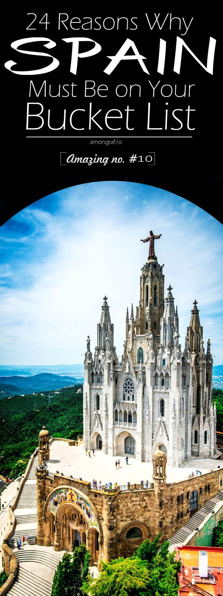24 Reasons Why Spain Must Be on Your Bucket List. Amazing no. #10 #travel #Spain