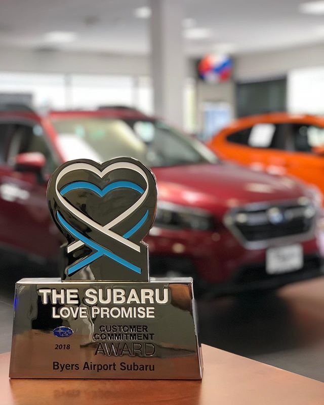 Byers Airport Subaru >> Byers Airport Subaru Was Honored Today By Subaru Usa With The