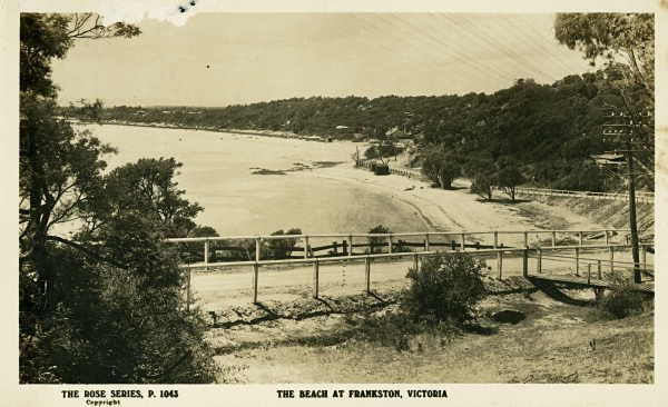 Frankston beach ca. 1907