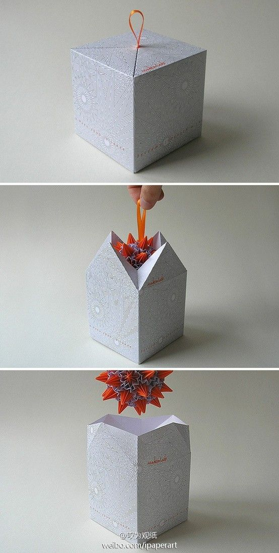 Creative gift packaging.  The design is not only convenient opening to open and close, ...