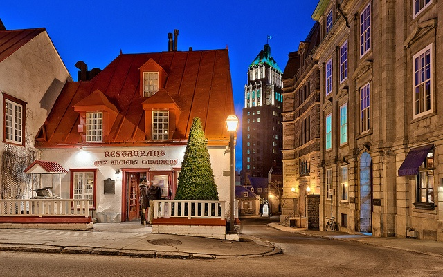 I have a picture of this building, taken by me, but from a different angle.  ~  Quebec City, Quebec, Canada