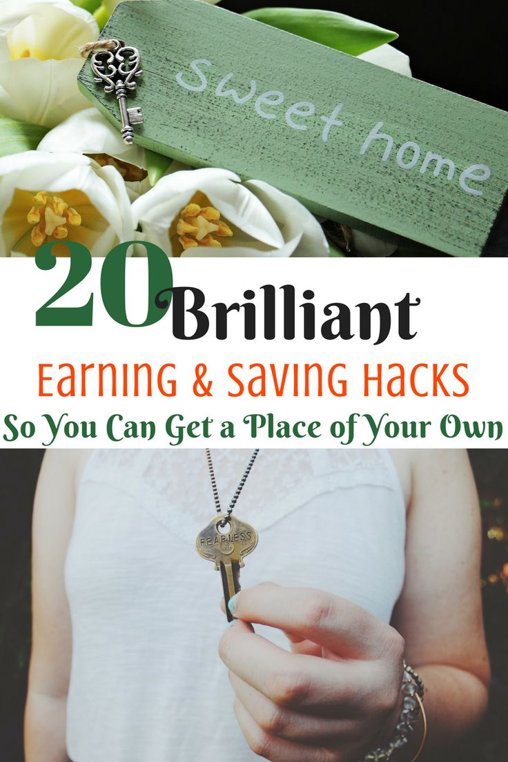 20 earning and budgeting tips so you can get a place of your own. Amazing ways to earn and save money to kickstart your budget.   #earnmoney #savemoney #budget  via @Healthysavvywise