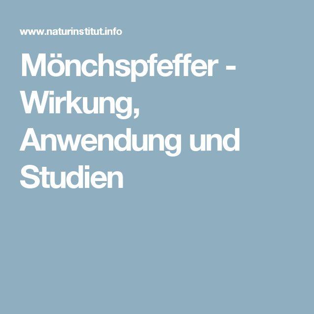 Mönchspfeffer - Wirkung, Anwendung und Studien