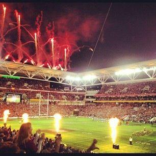 State of #Origin - Game 2 - June 2013 - #SuncorpStadium - #QLD Win