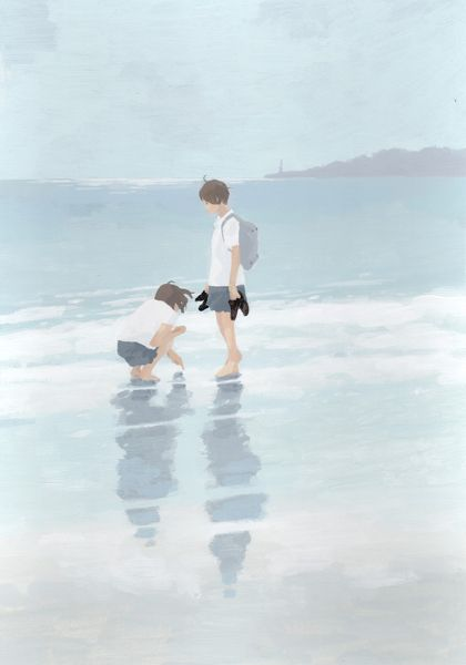 Recuerdos :un dia de playa