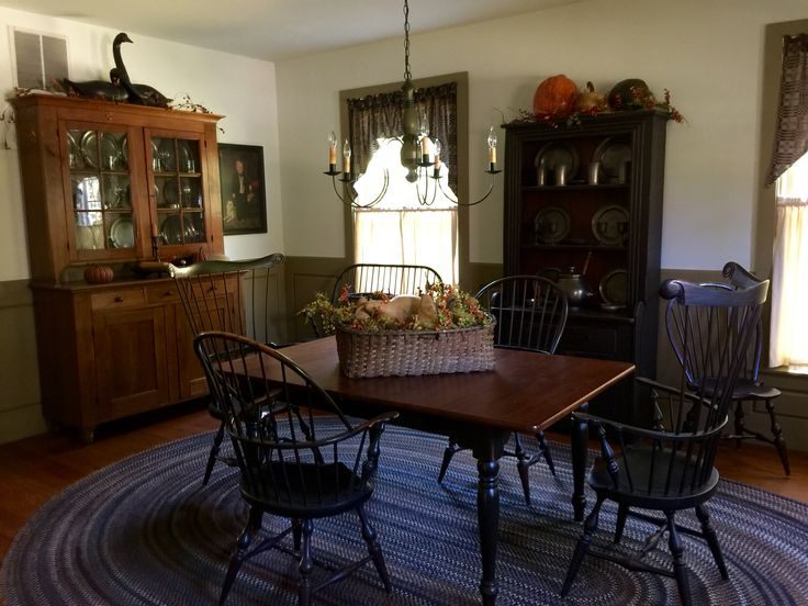 Colonial Dining Room Furniture: 520 Best Colonial Dining Rooms Images On Pinterest