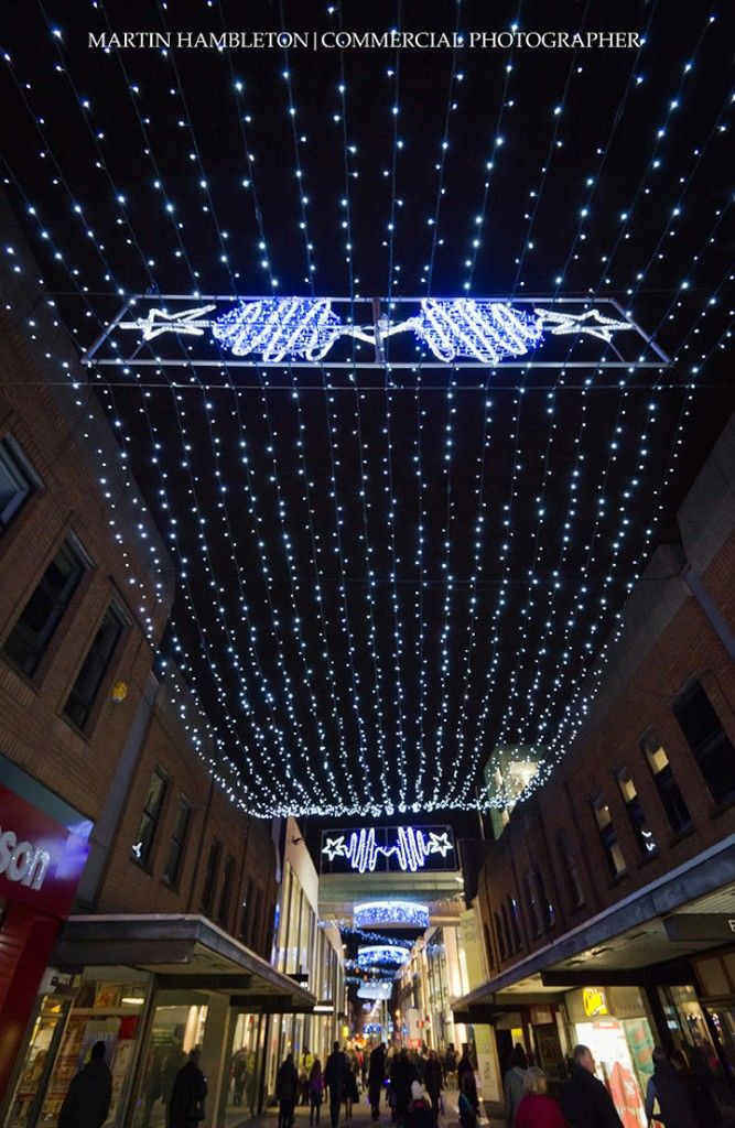 Altrincham Stamford Quarter Christmas lights