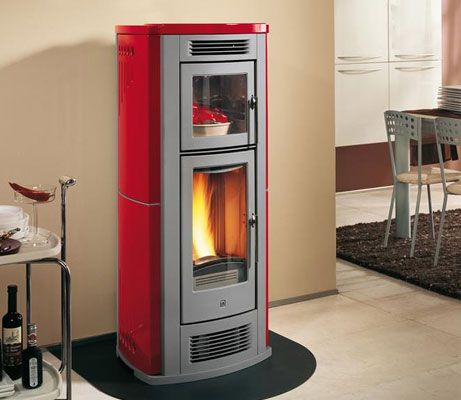 Piazzetta P960f Pellet Stove Oven Image 2 Small