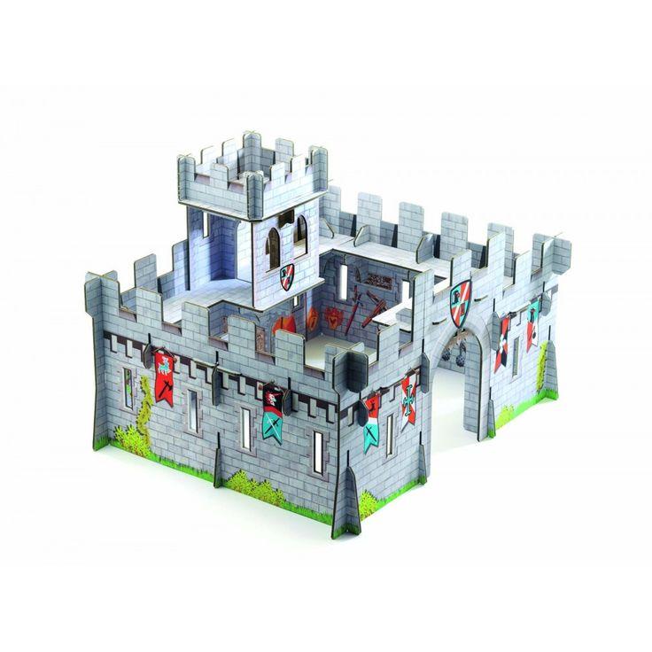 Djeco - Pop to Play - Castello Medievale - DJ07703   lalberoazzurro.net