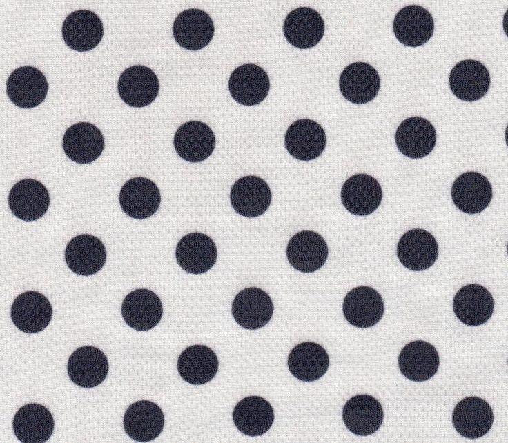 PR 0620 Dots Flat Back Wicko Mesh