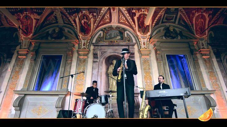 """ALMA PROJECT - GB Sax Drums HAMMOND TRIO - """"Bye Bye Blackbird"""" ( Ray Henderson & Mort Dixon) - Villa Corsini di Mezzomonte"""
