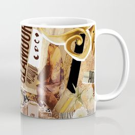 """Great wedding & bridesmaids gifts - an elegant coffee mug designed in Italy. Title """"Glamour""""."""