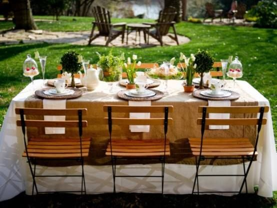 Mother 39 S Day Decorations Brunch Table Set Up Holiday
