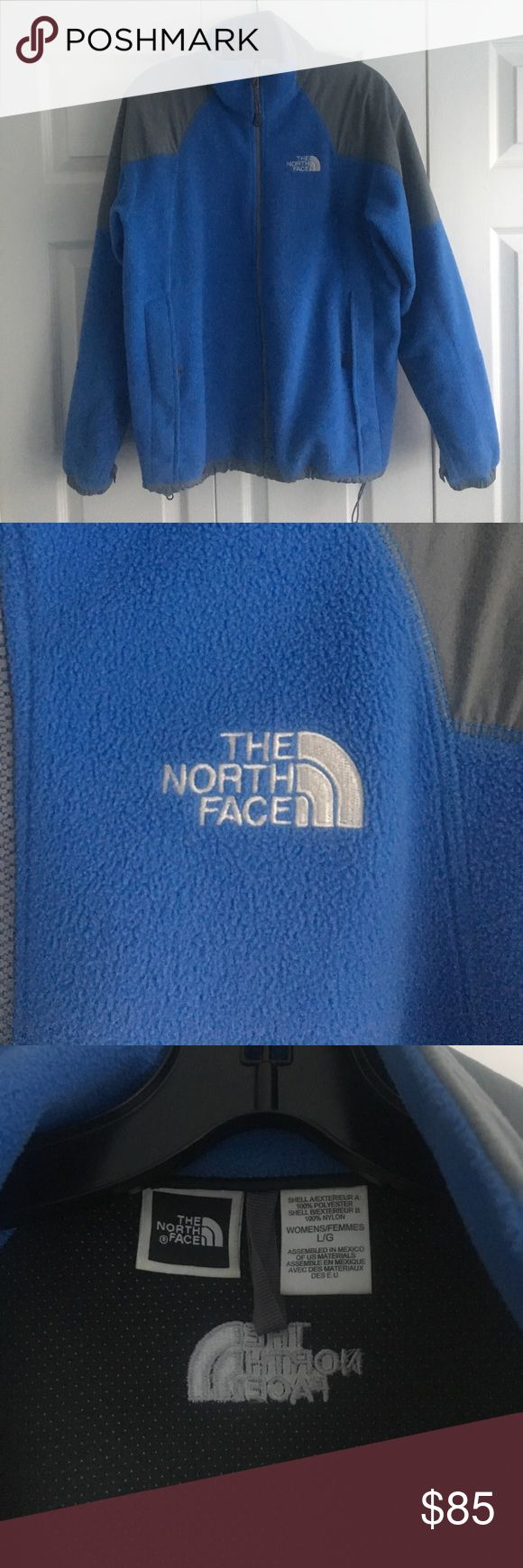THE NORTH FACE gore windstopper jacket blue THE NORTH FACE gore windstopper jacket blue ladies jacket women's size large. Fleece wind breaker jacket. Looks excellent, very clean!! Worn only a few times. Beautiful shade of blue. Pockets and a cord to scrunch the bottom of the jacket to your desired fit!! Perfect for spring, fall and windy days! The North Face Jackets & Coats