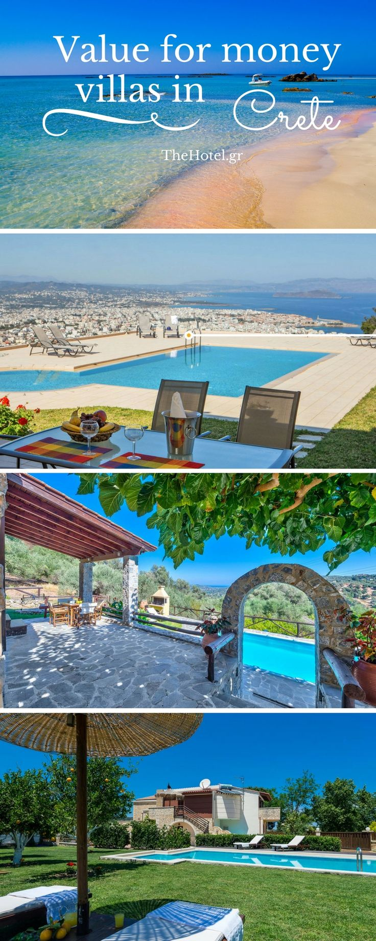 Book a budget villa for your holidays in sunny Crete!