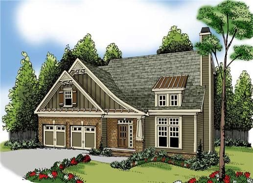 Home Plan Northwood Has A Simple Floor Plan With Spacious Rooms. The Master  Suite Is