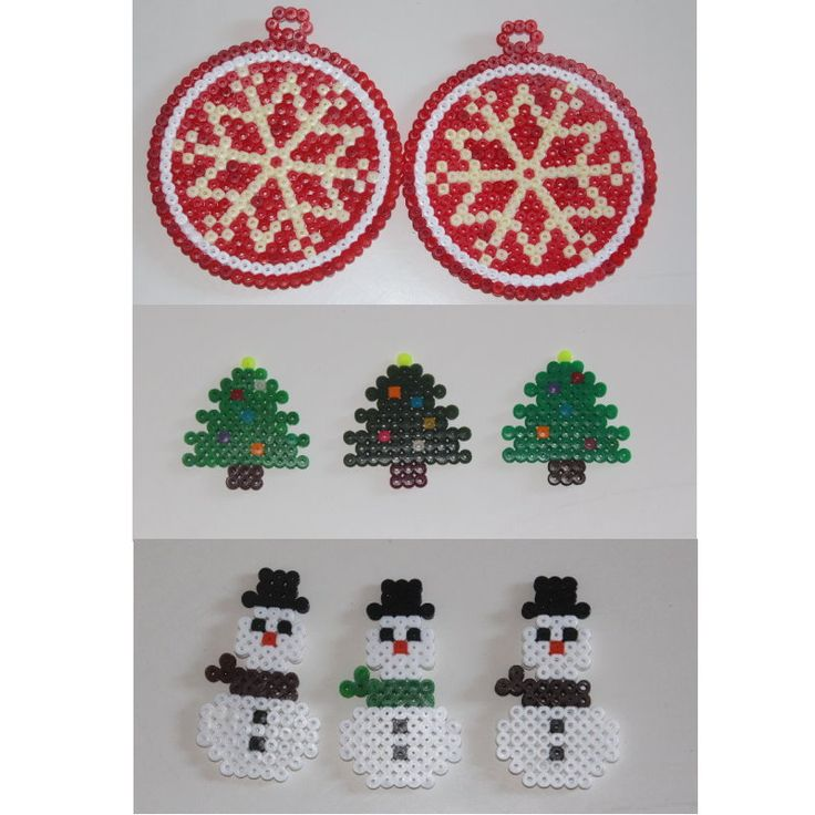 hama bead christmas diy
