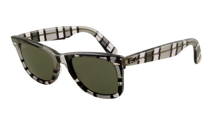 Gafas Online - Sunglasses - Ray-Ban Sun Collection - RB2140 ORIGINAL WAYFARER - Gafas de sol - Ray-Ban Sun Collection - RB2140 ESPECIAL SERIES - 1084 GREY DARK AND LIGHT CRYSTAL GREEN