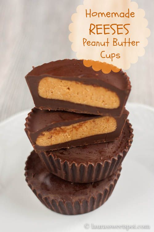 Homemade Reeses Peanut Butter Cups- a lot easier than you might think!