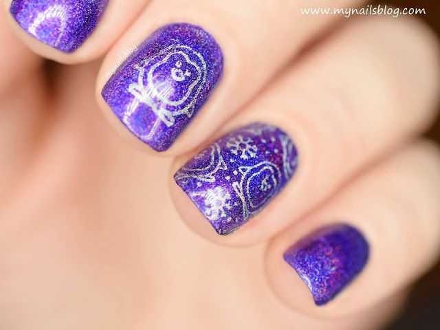 My nails blog: Born Pretty H003 Temptation Wait - swatch + zdobienie