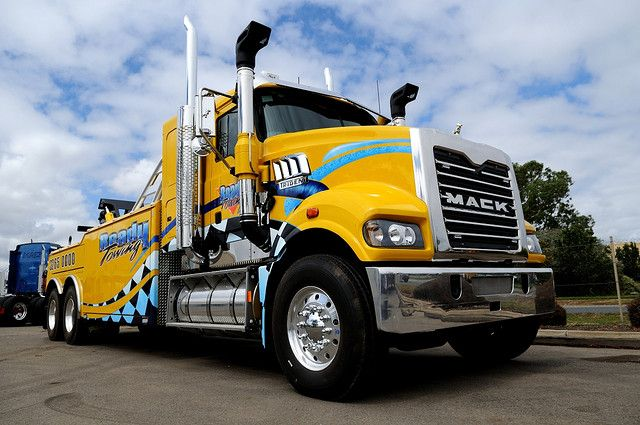 Mack Trucks Automatic : Best images about heavy duty towing on pinterest tow