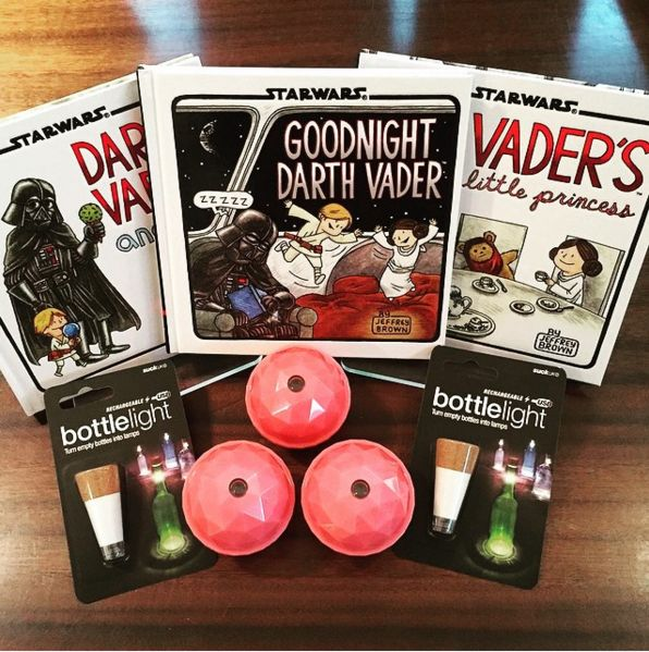 FLASHBACK to some of our favourite Star Wars products we have stocked // and some other goodies including galaxy projector domes